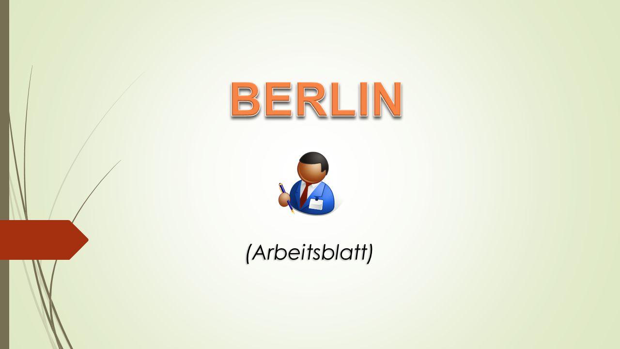 Berlin liegt von Deutschland. im Osten