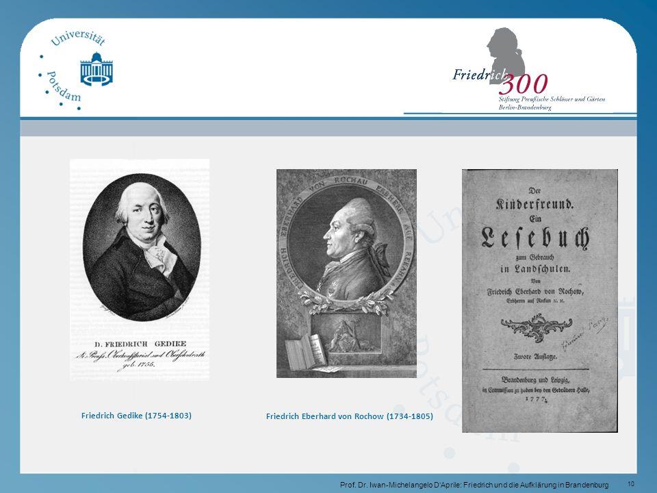 10 Friedrich Gedike (1754-1803) Prof.Dr.