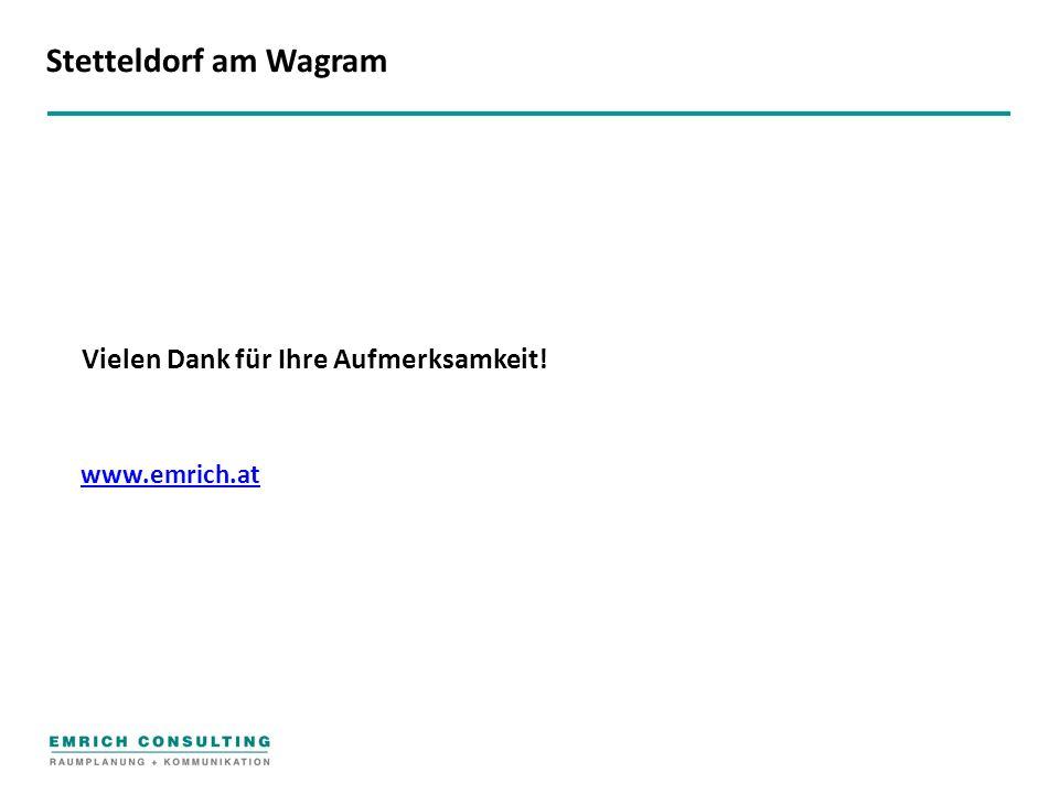 www.emrich.at Vielen Dank für Ihre Aufmerksamkeit! Stetteldorf am Wagram