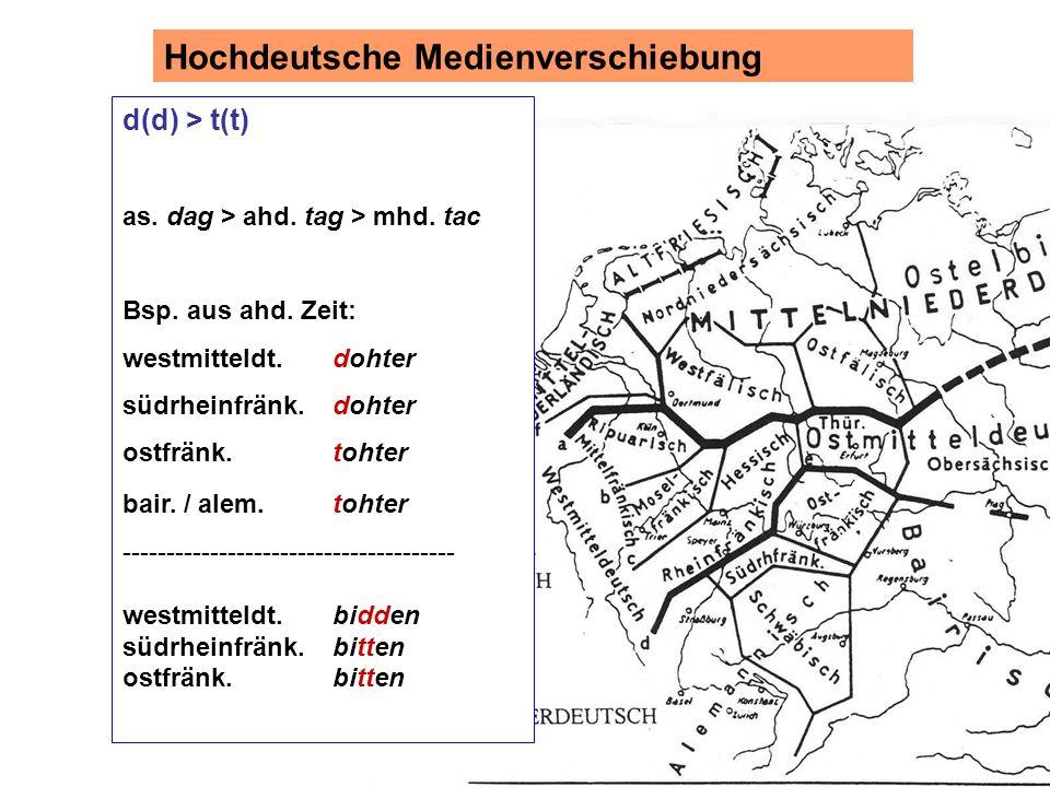 d(d) > t(t) as. dag > ahd. tag > mhd. tac Bsp. aus ahd.