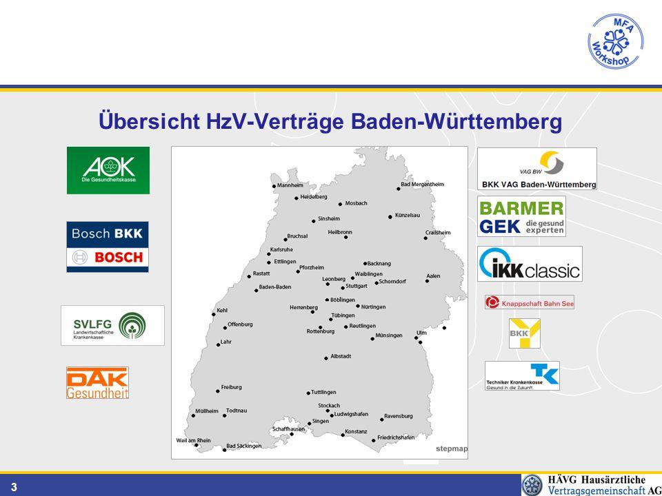 3 Übersicht HzV-Verträge Baden-Württemberg