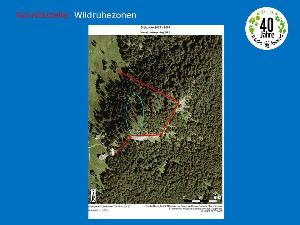 Schnittstelle: Grossraubtiere Wiederansiedlung CH: 1971 und 1975 LUNO: 2001-2008