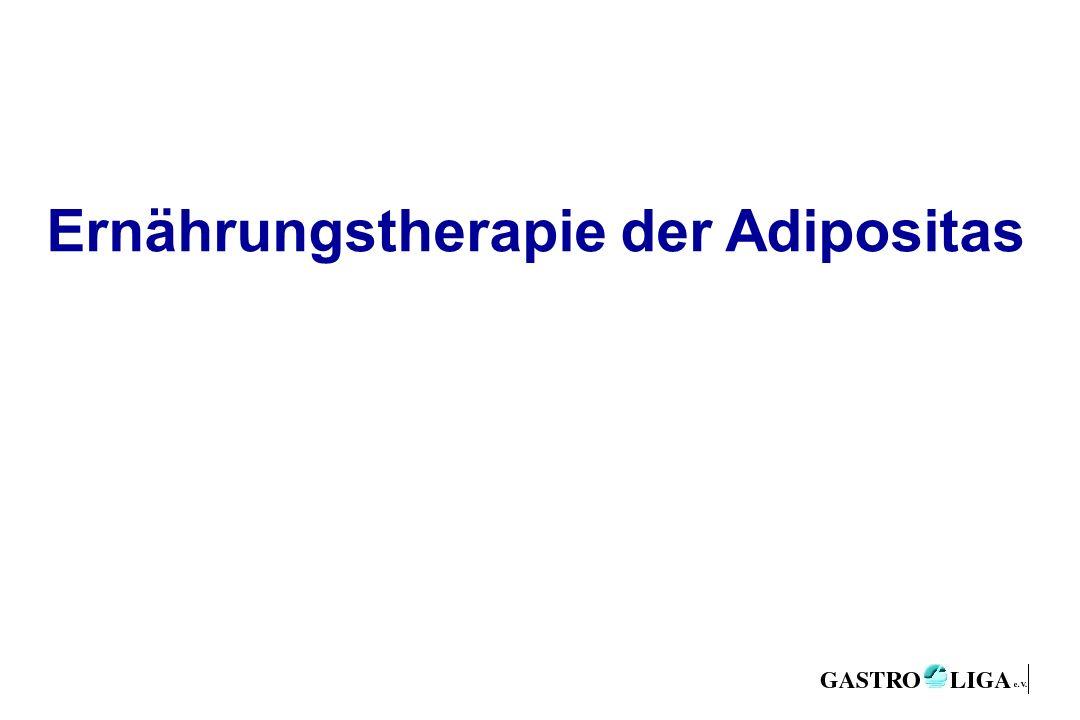 Ernährungstherapie der Adipositas
