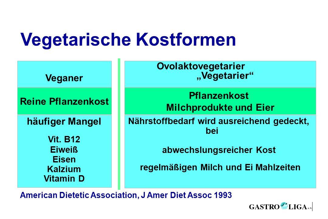 """Vegetarische Kostformen Reine Pflanzenkost Veganer Ovolaktovegetarier """"Vegetarier häufiger Mangel Vit."""