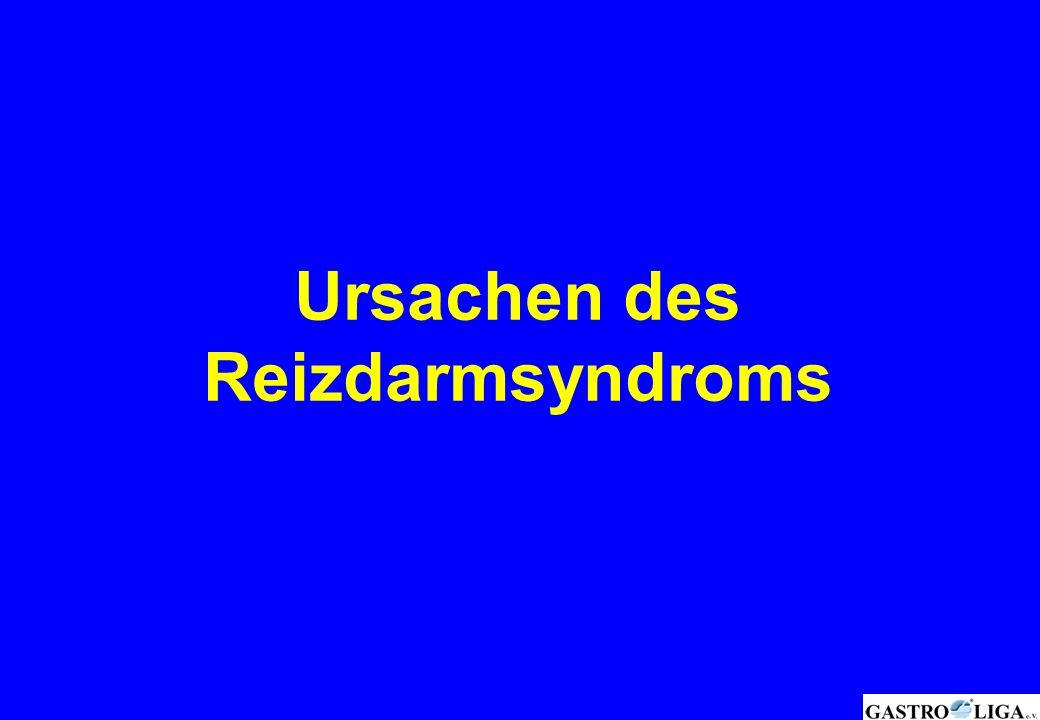 Ursachen des Reizdarmsyndroms