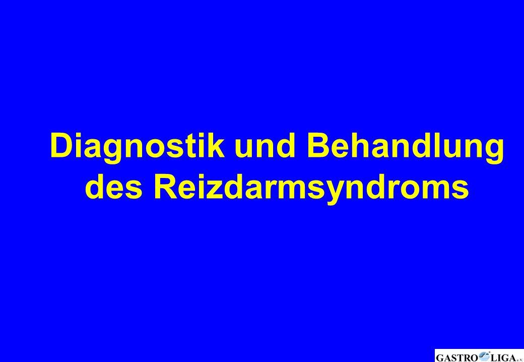 Diagnostik und Behandlung des Reizdarmsyndroms