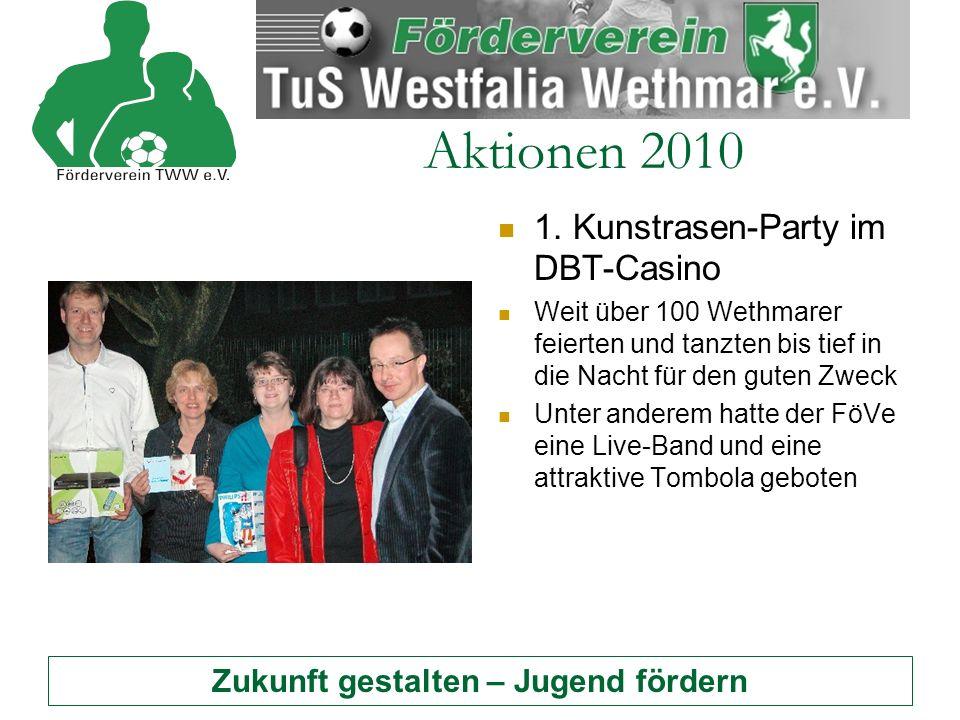 Zukunft gestalten – Jugend fördern Aktionen 2010 1.
