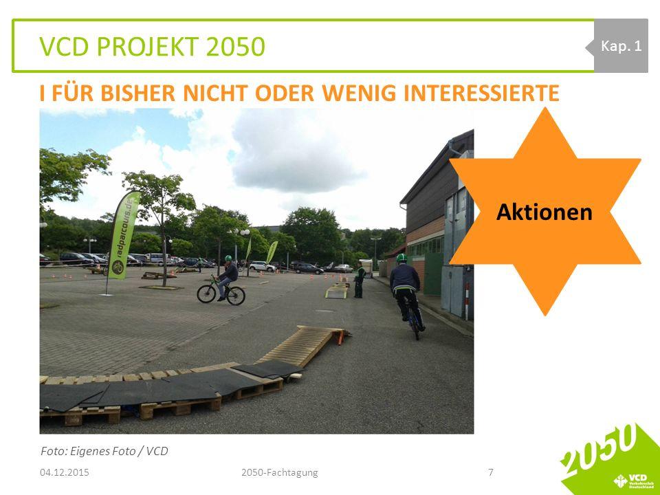 VCD PROJEKT 2050 04.12.20152050-Fachtagung7 Kap.