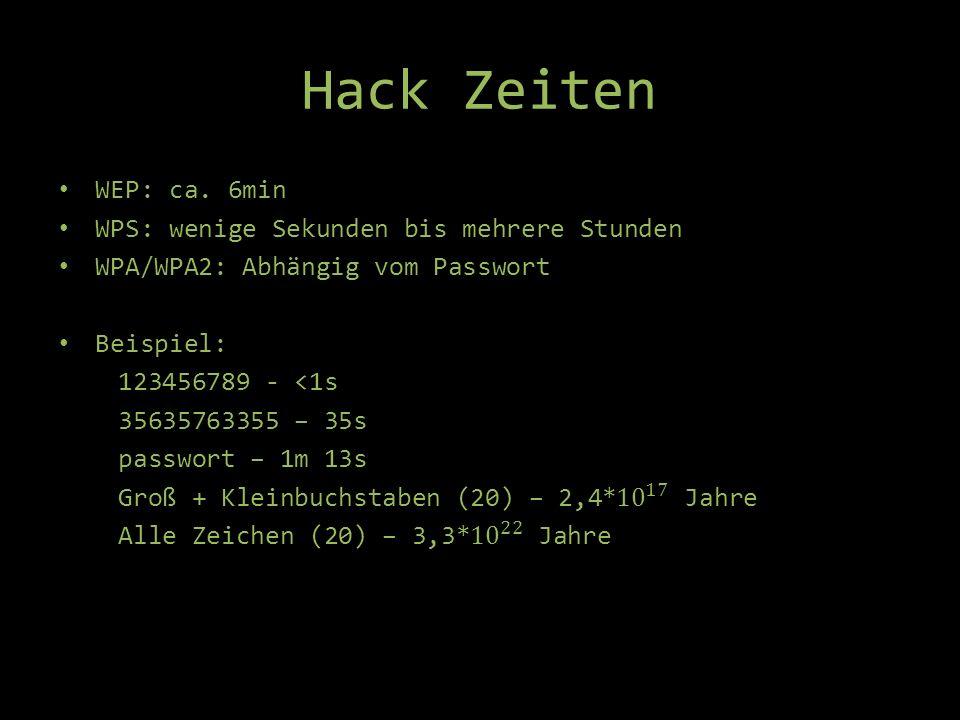 Hack Zeiten