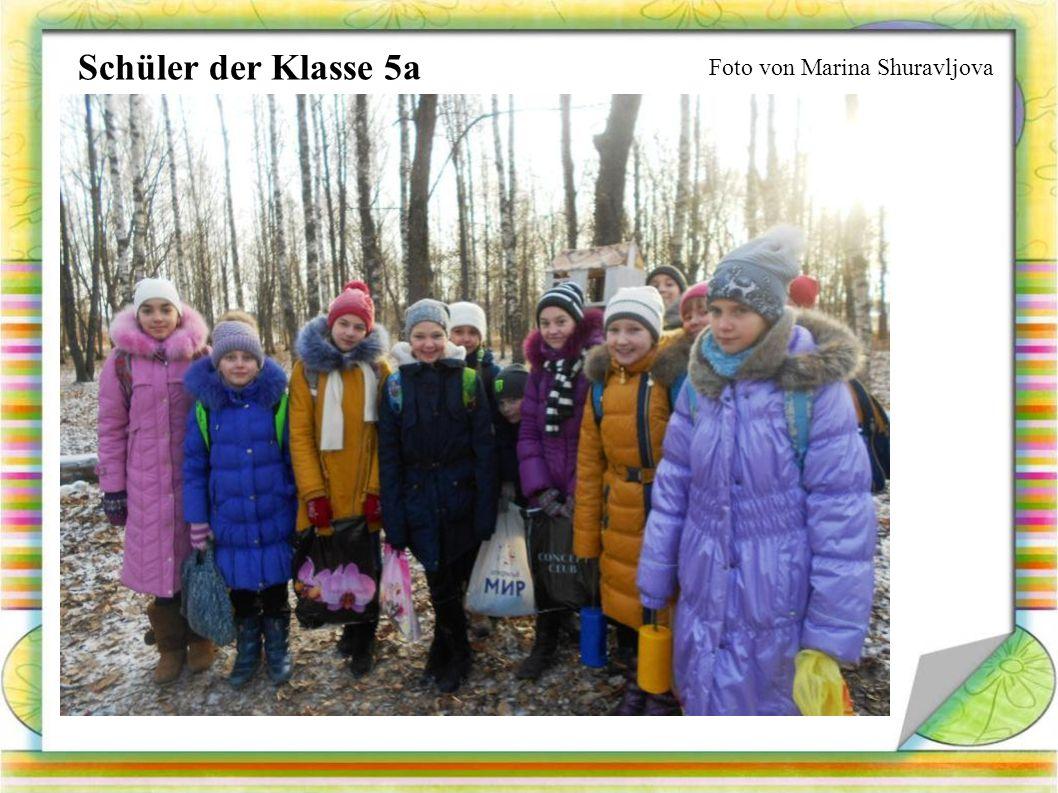 Foto von Marina Shuravljova Schüler der Klasse 5a