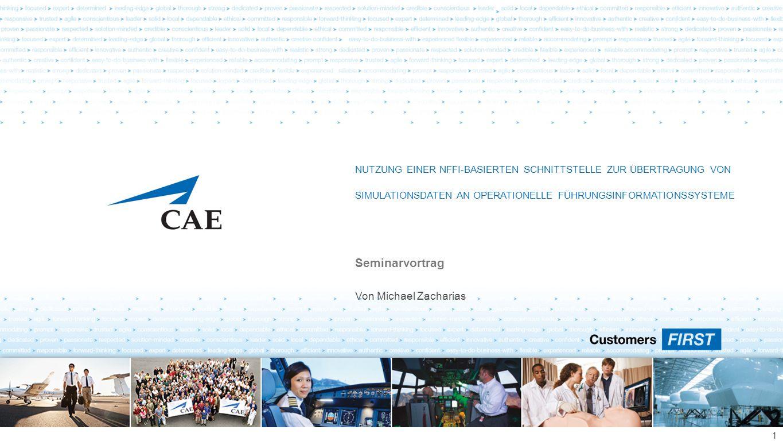 CAE Elektronik Proprietary Information and/or Confidential Fragen.