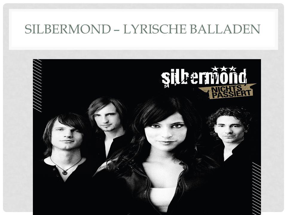SILBERMOND – LYRISCHE BALLADEN
