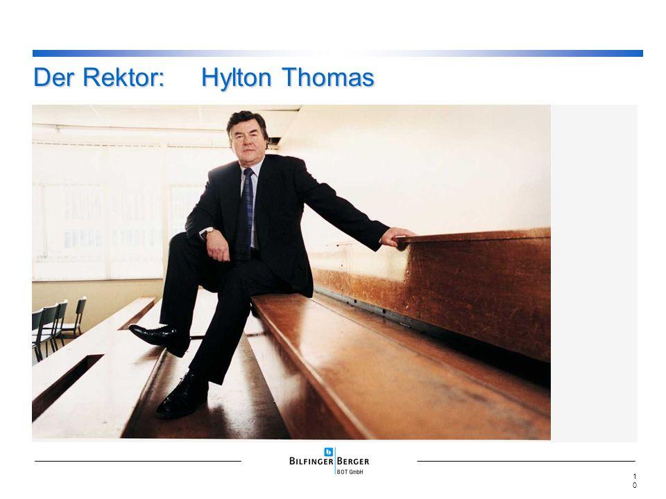 Der Rektor:Hylton Thomas 10
