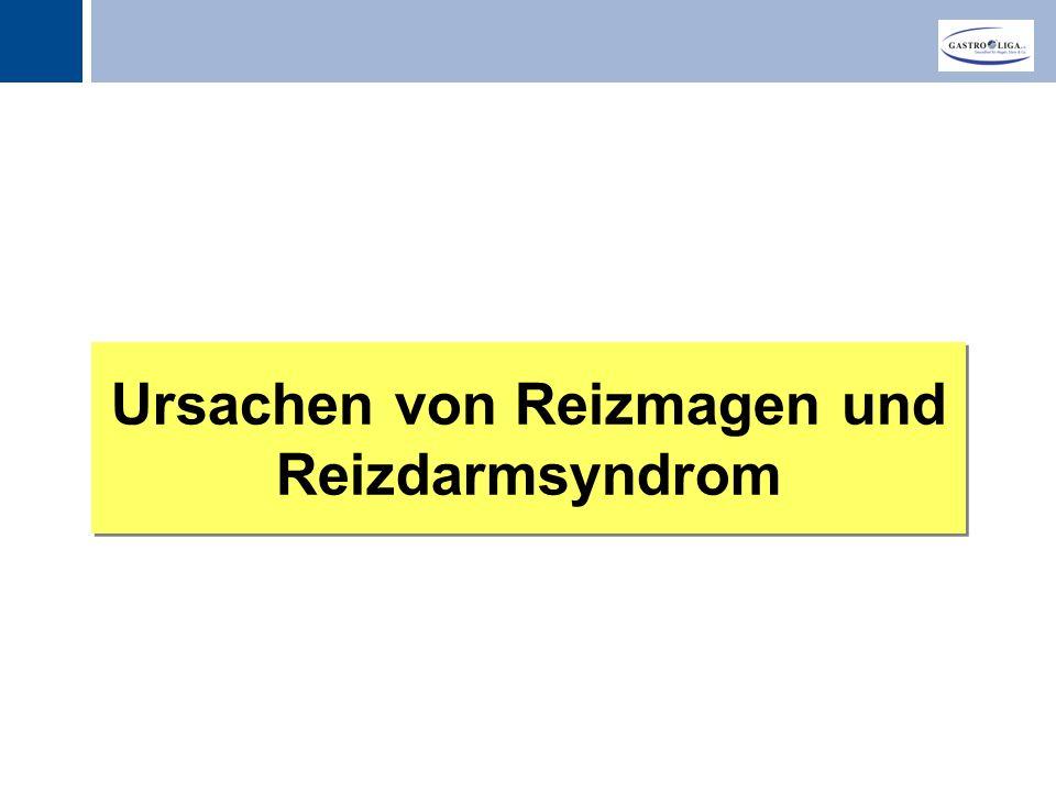 Titel Ursachen von Reizmagen und Reizdarmsyndrom