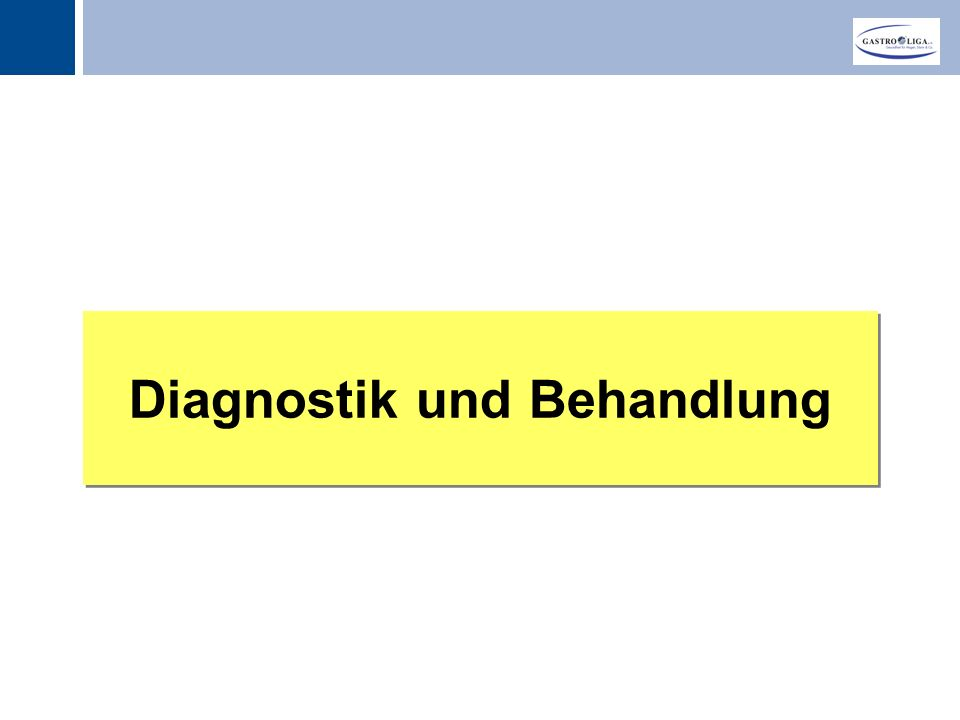 Titel Diagnostik und Behandlung