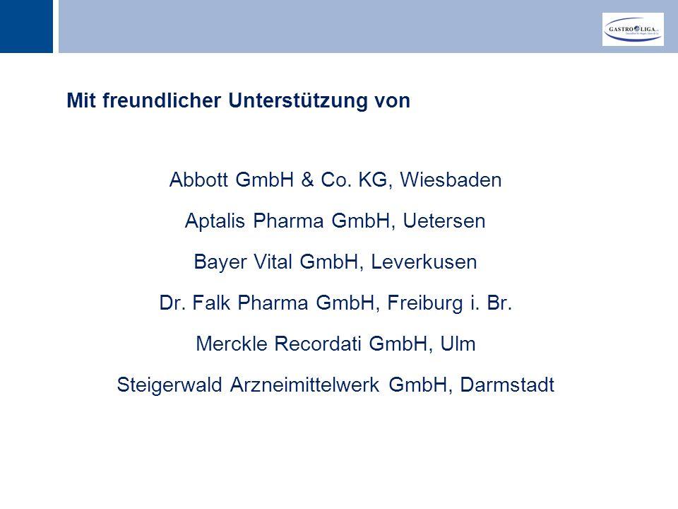 Titel Mit freundlicher Unterstützung von Abbott GmbH & Co.