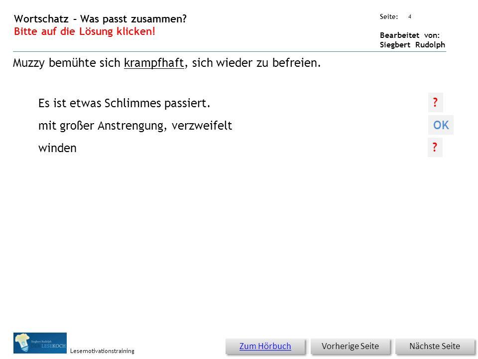 Übungsart: Seite: Bearbeitet von: Siegbert Rudolph Lesemotivationstraining 3 12 Eine schöne Bescherung – bitte klicken.