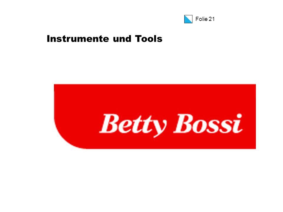 Folie 21 Instrumente und Tools