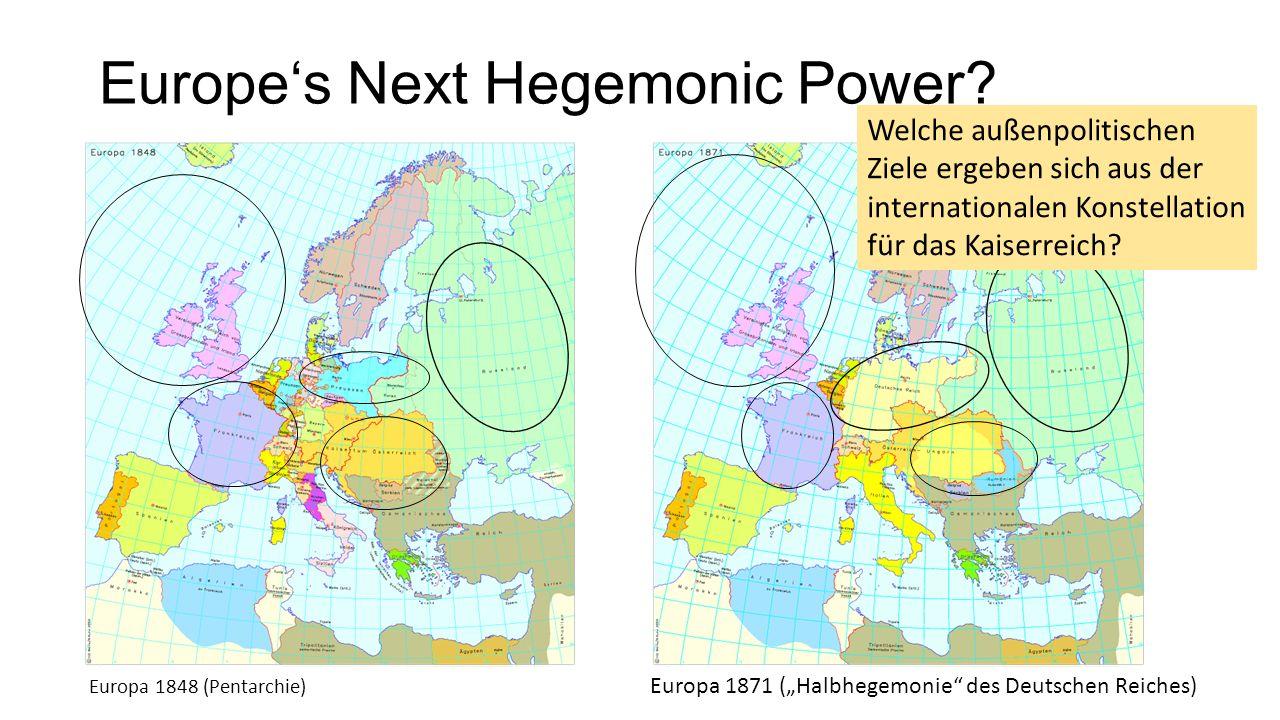 Europe's Next Hegemonic Power.