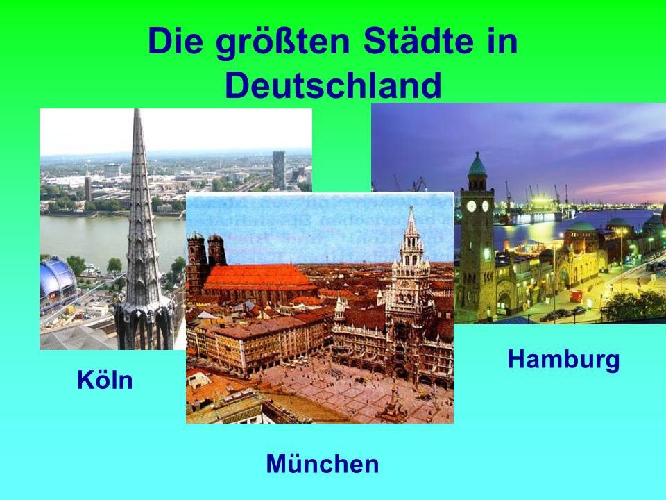 Das Schulwesen in Deutschland ist die Sache der Bundesländer und hat drei Stufen.