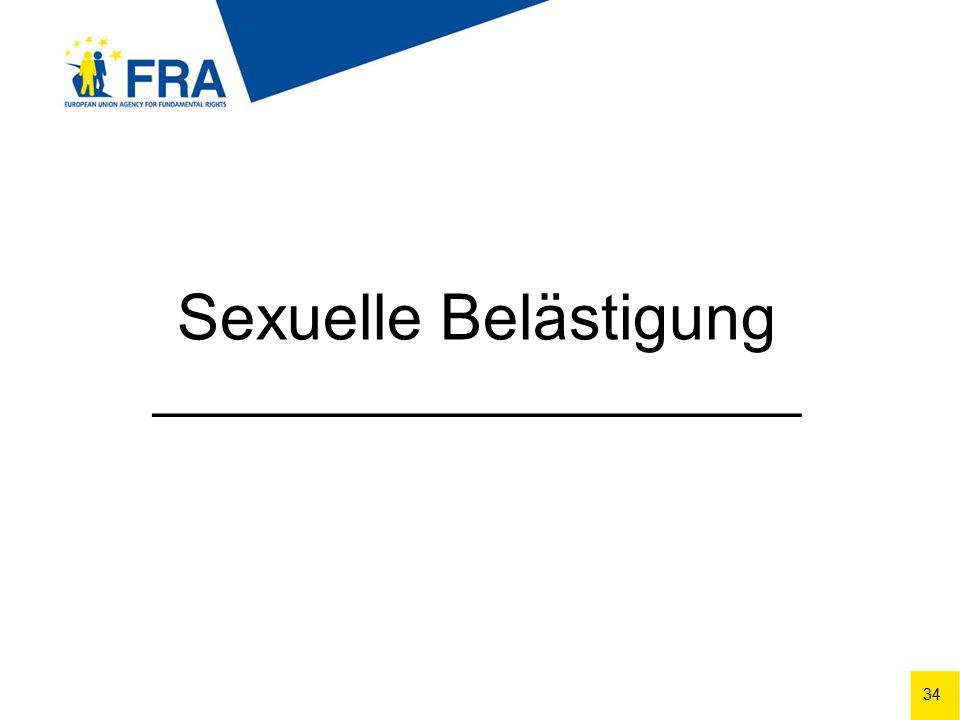 34 Sexuelle Belästigung ______________________