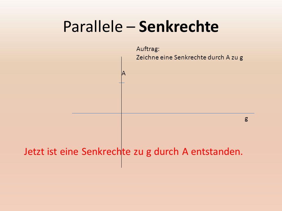 Parallele – Senkrechte E N D E