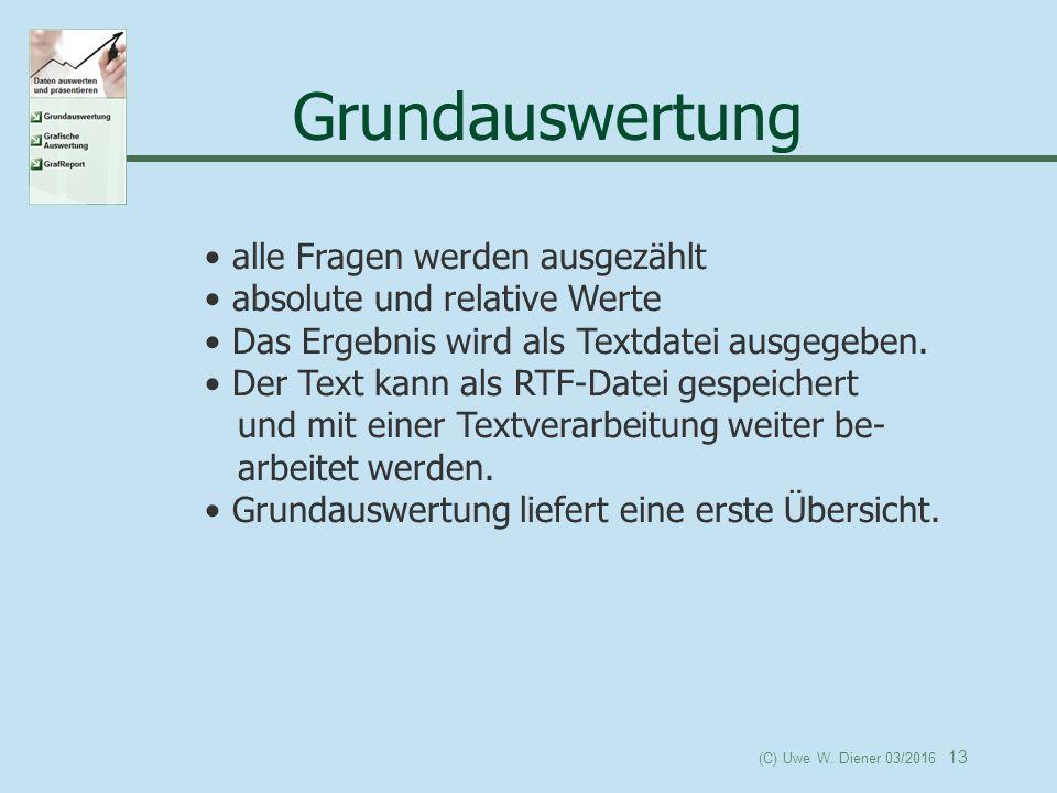 (C) Uwe W.