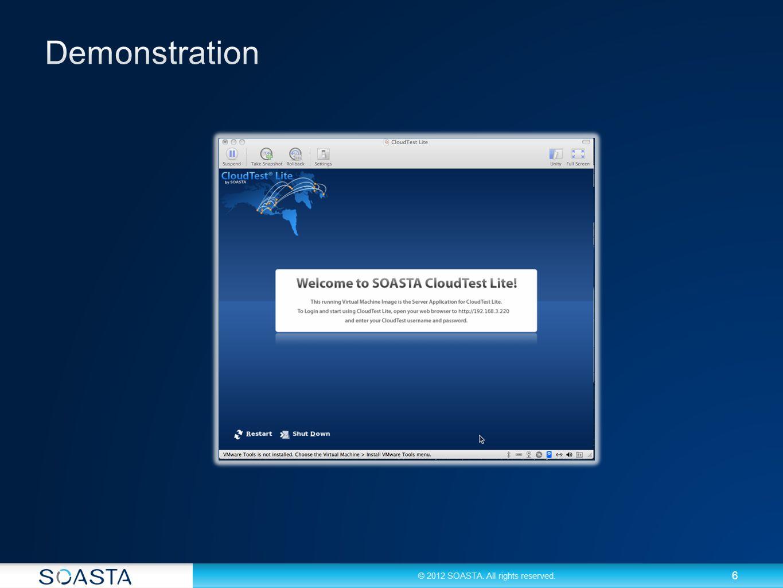 7 Registrieren Sie sich noch heute für ihr kostenloses Loadtest Tool: soasta.com/free Und registrieren Sie sich ebenfalls für die kostenlose Community: CloudLink http://cloudlink.soasta.com