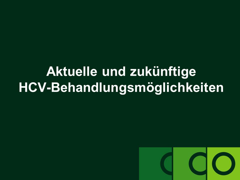 clinicaloptions.com/hepatitis Handhabung von Hepatitis C-Patienten während der Behandlung EASL: Response-gesteuerte Therapie bei Patienten mit Genotyp 2/3-Infektion European Association for the Study of the Liver.