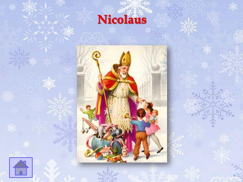 Der Gehilfe des Nikolaus.