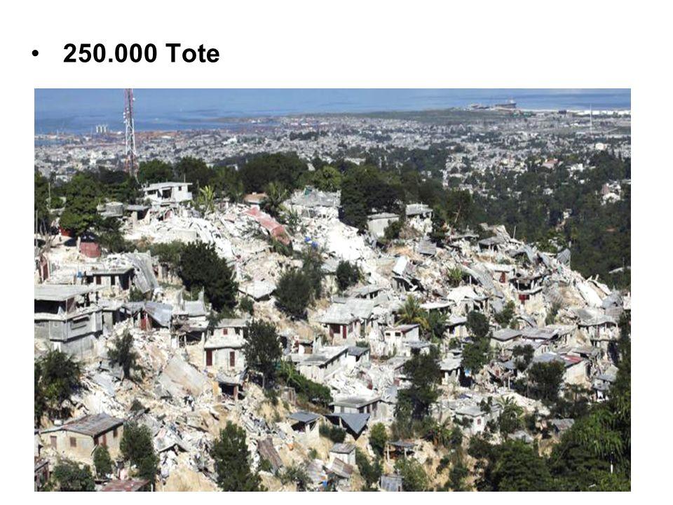 1.000.000 Menschen sind obdachlos