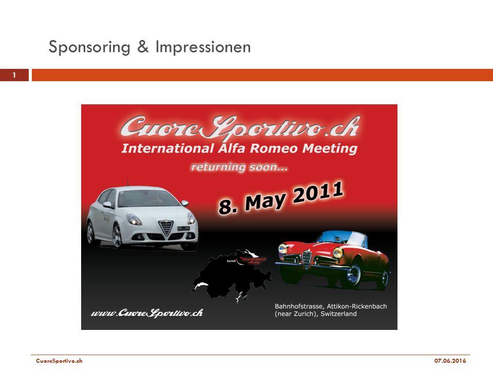 Sponsoring & Impressionen 1 CuoreSportivo.ch07.06.2016