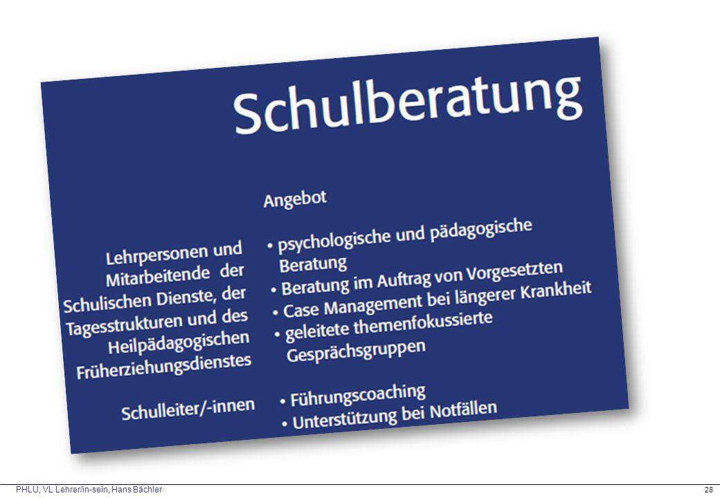 PHLU, VL Lehrer/in-sein, Hans Bächler 28