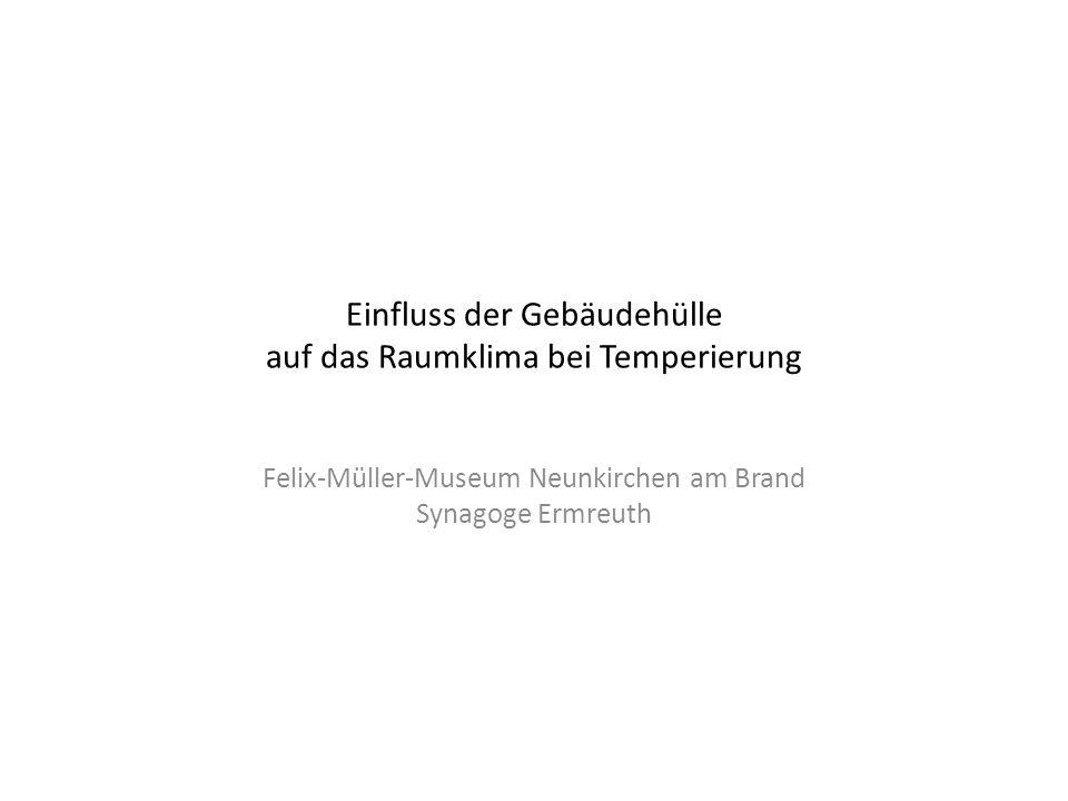 Neunkirchen am Brand Probleme: Dachkonstruktion als raumbegrenzende Fläche Einbauten: Lüftungskanäle für EG (hier rechts in Raummitte)