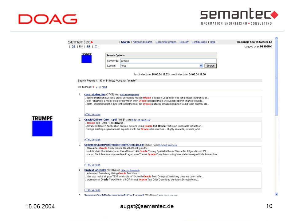 10 15.06.2004 augst@semantec.de