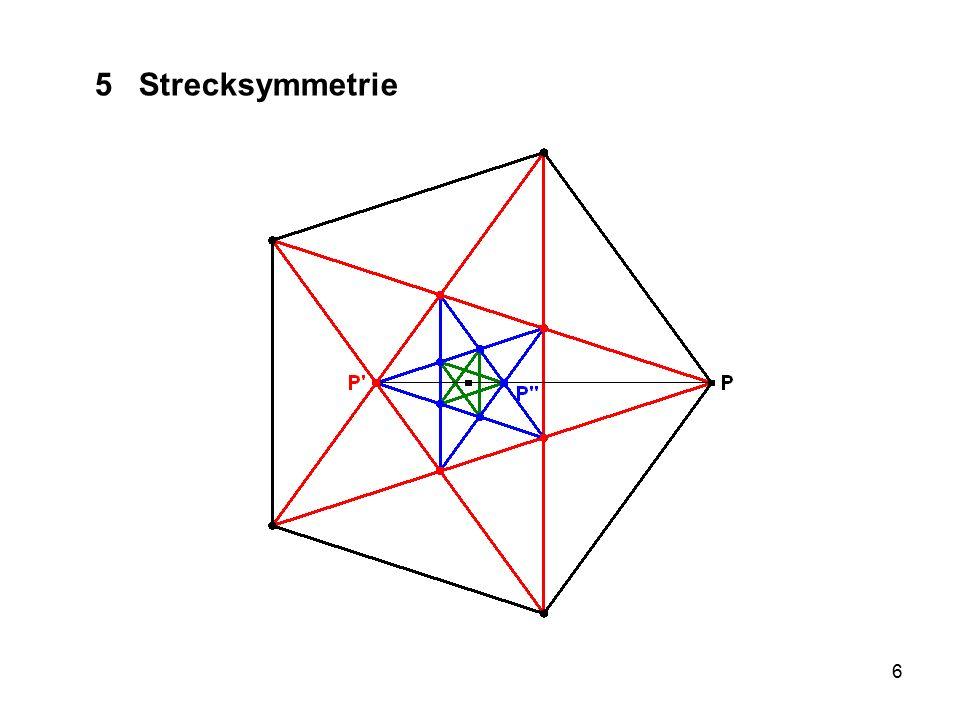 37 9 Rückblick Warum ist Symmetrie in allen Bereichen so sehr verbreitet.