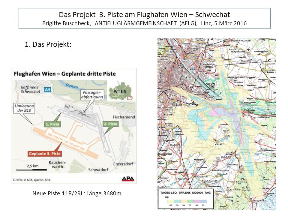 Umweltauswirkungen: Lärm in dicht besiedelten Gebiet en(3 mal so viele Überflüge in Liesing)  gesundheitliche Folgen.