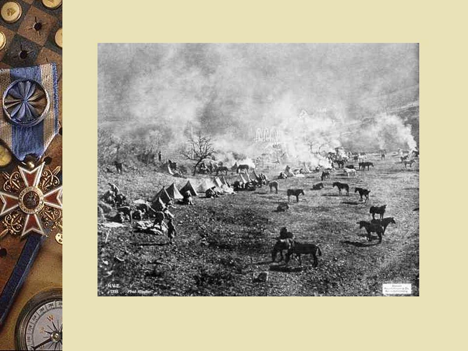 Ö-H Truppen beim Überqueren des Isonzo