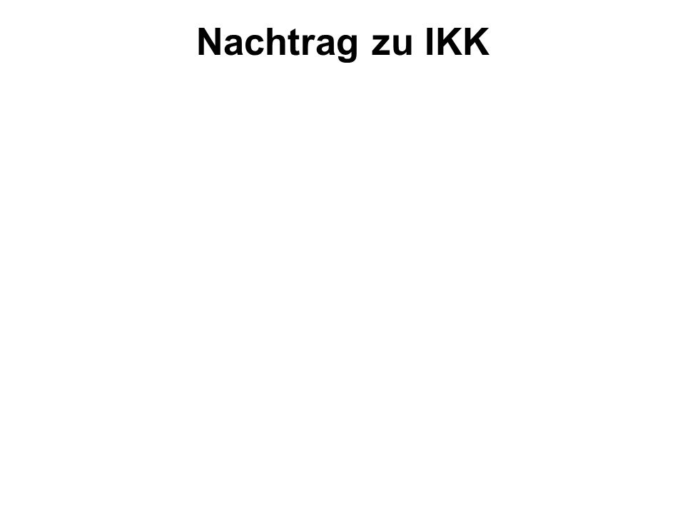Nachtrag zu IKK 1 Aus den Leitgedanken Bpl 2016 2 Was ist normal? 3 Wurzel des Übels 4 Problem und Lösung 5 Konsequenzen für den Unterricht