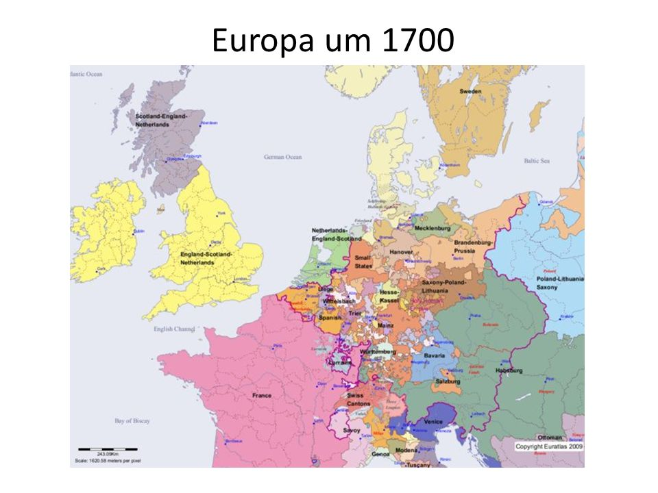 Europa um 1700