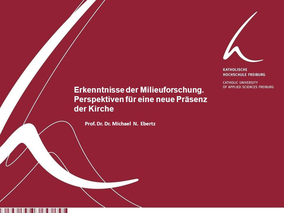 Prof.Dr. Dr. Michael N. Ebertz 1 Erkenntnisse der Milieuforschung.