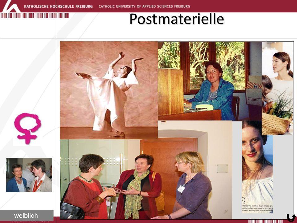 Postmaterielle weiblich