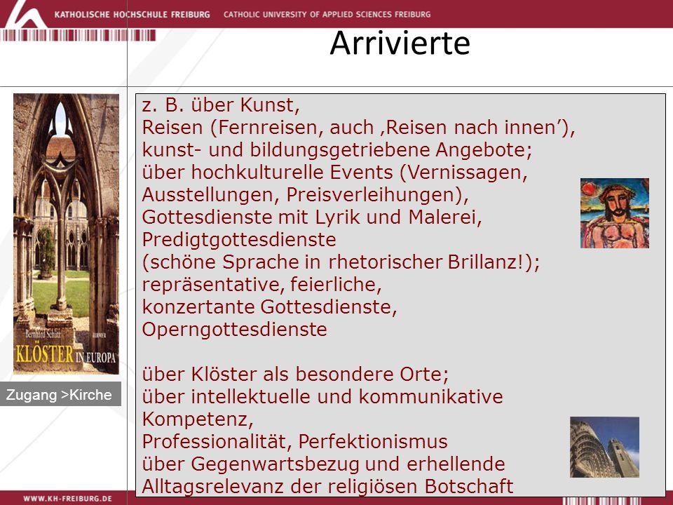 Michael N.Ebertz Arrivierte Zugang >Kirche z. B.