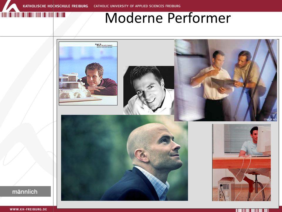 Moderne Performer männlich