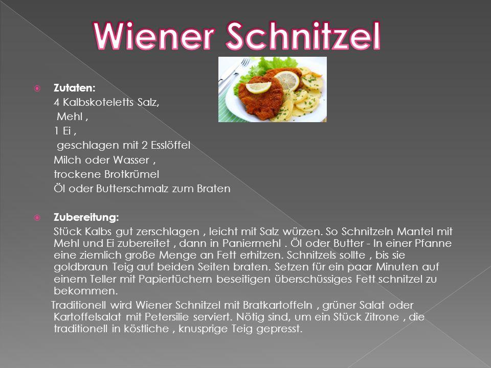 Eine andere fabelhafte Delikatesse mit Eiern, Mehl und Milch sind Salzburg Nockerln, mit großem Erfolg bereits 300 Jahre früher.