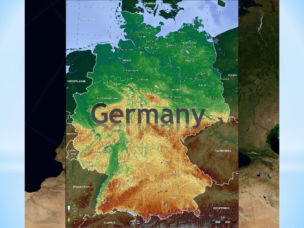 360 000 km² 82 mio. inhabitants capital: Berlin 16 federal states