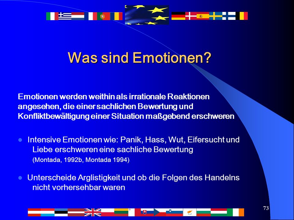 73 Was sind Emotionen.