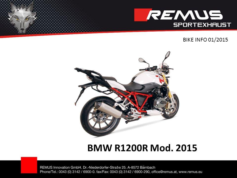 BMW R1200R Mod. 2015 BIKE INFO 01/2015