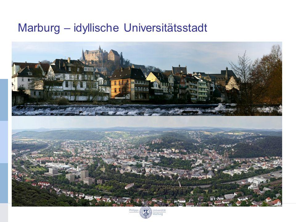 Marburg – idyllische Universitätsstadt