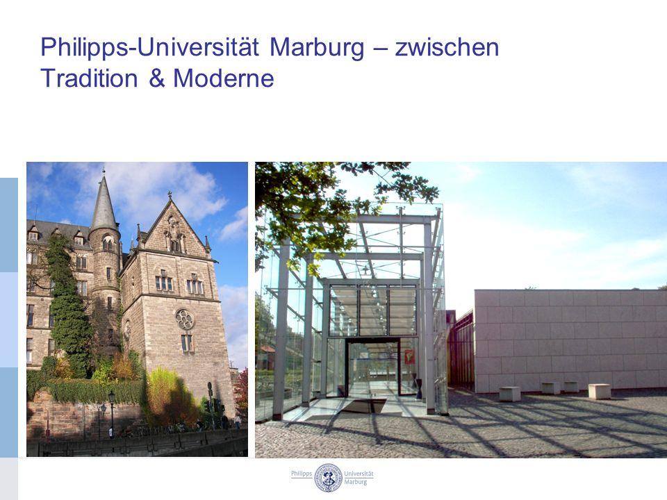 Philipps-Universität Marburg – zwischen Tradition & Moderne